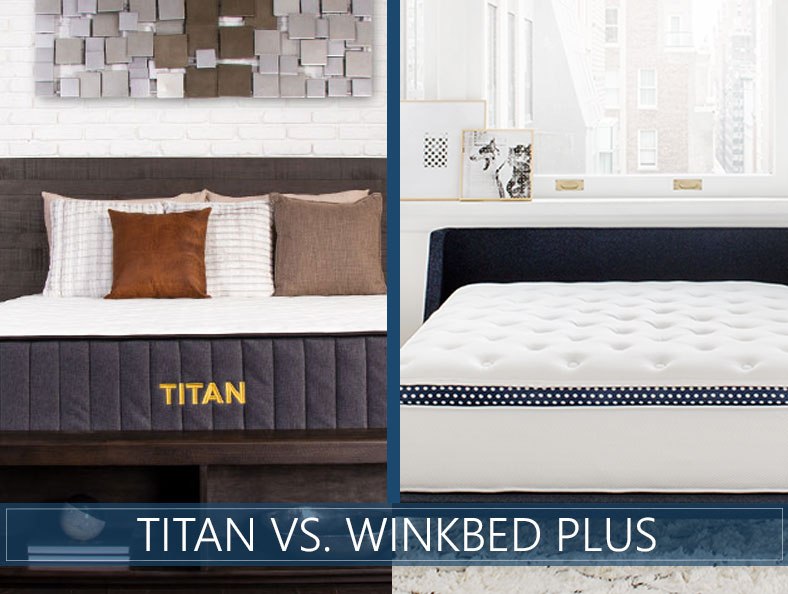 our comparison of titan and winkbed plus