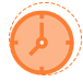 Time Icon White Background