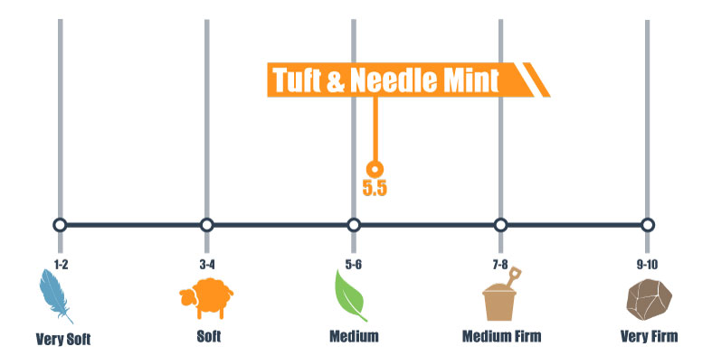 firmness scale for t&n mint