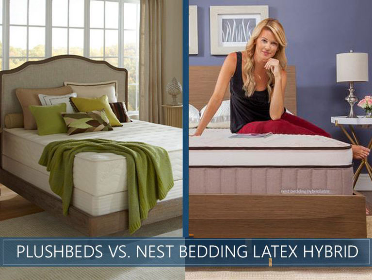 our comparison of plushbeds and latex hybrid updated