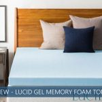our overview of lucid gel memory foam topper
