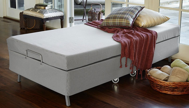 photo of a rollaway bed