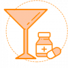 Alcohol Pills Icon