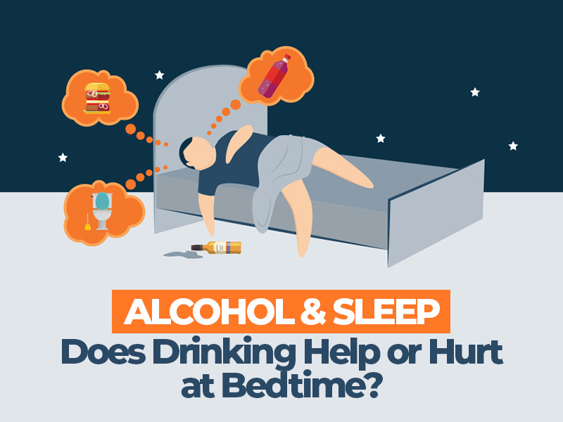 Does Drinking Help or Hurt at Bedtime?