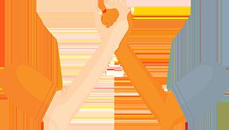 Team Hands Illustration