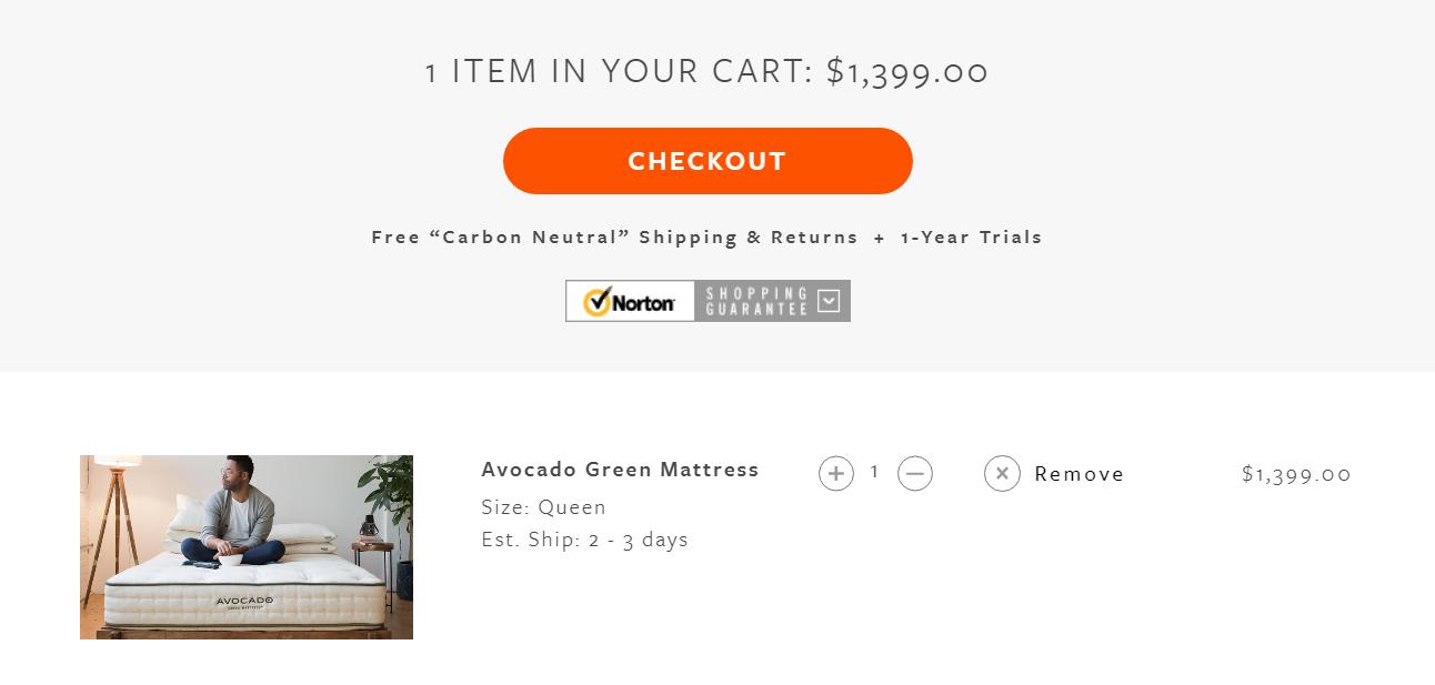 avocado cart