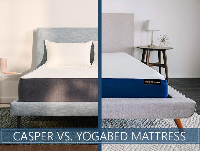 casper versus yogabed compared
