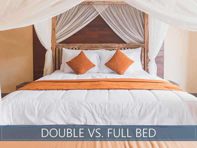 full bed versus double