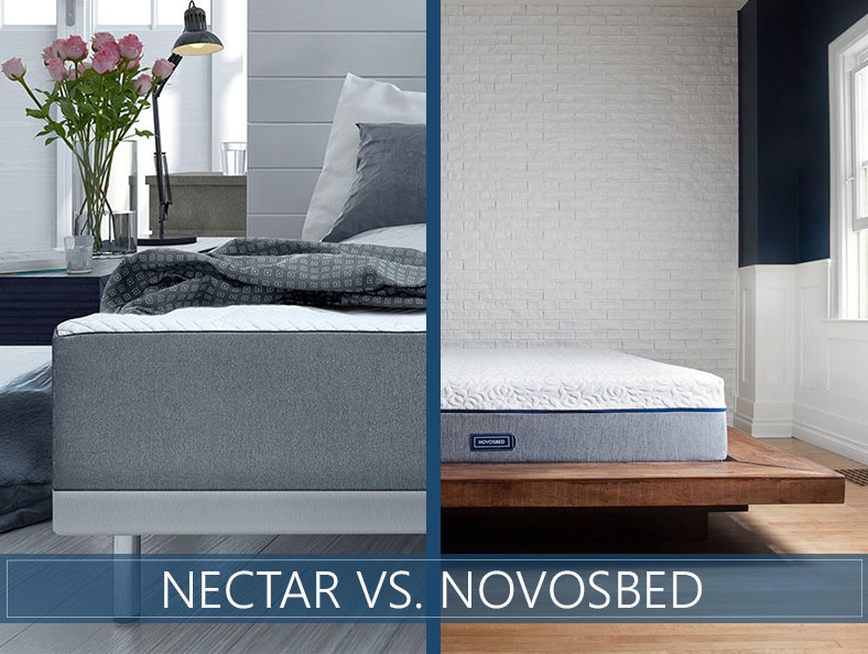 our comparison of nectar and novosbed mattress