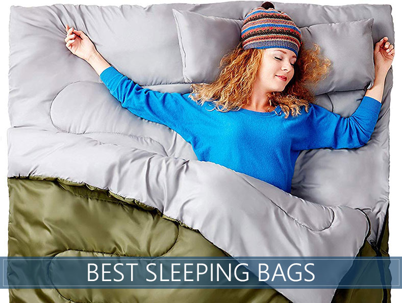 our top rated sleeping bags