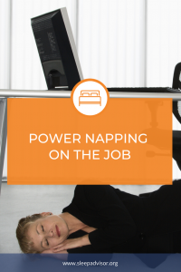 Power napping on the job