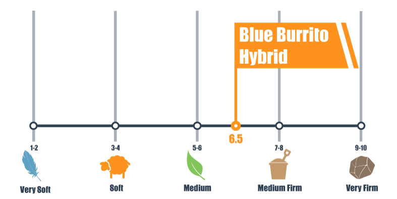 firmness scale for blue burrito hybrid