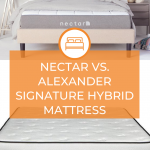 Nectar Vs. Alexander Signature Hybrid Mattress
