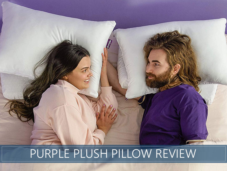 our overiew of the purple plush pillow