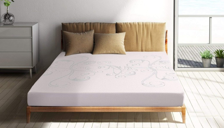 photo of a polyfoam mattress