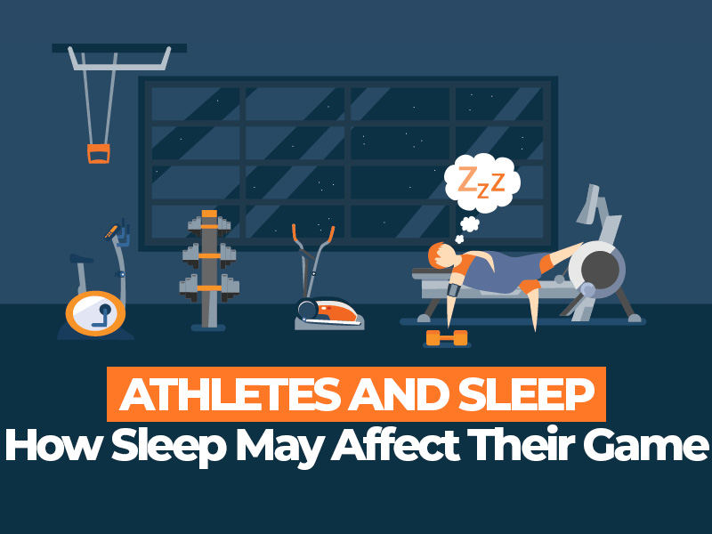 How an Athlete Sleeps May Affect Their Game