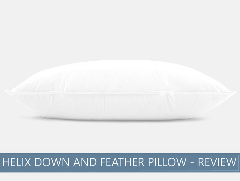 our in depth helix down and feather pillow overview