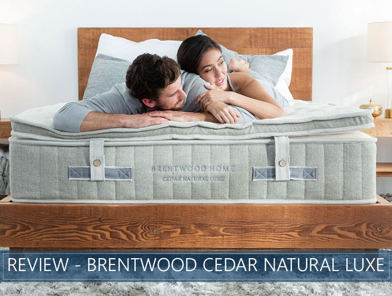 our in depth overview of the Brentwood Cedar Natural Luxe bed