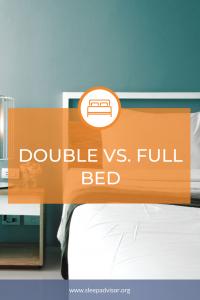 Double Vs. Full Bed