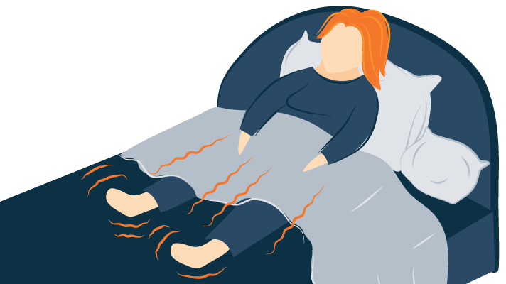Illustration of Restless Leg Syndrome