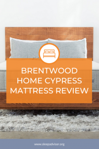 The Brentwood Home Cypress Mattress