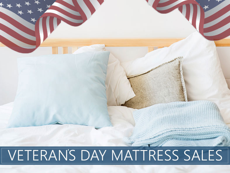 our mattress sale guide for veteran's day