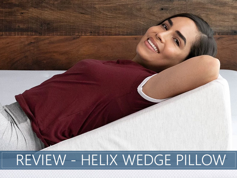 our overview of the helix wedge pillow