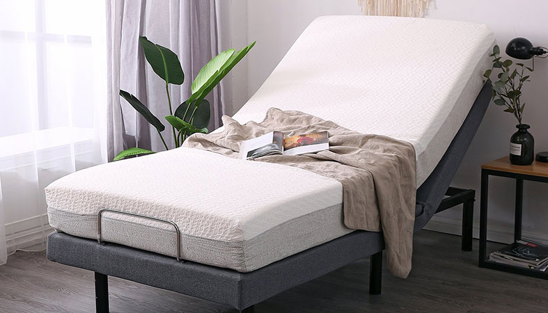 photo of an adjustable bed