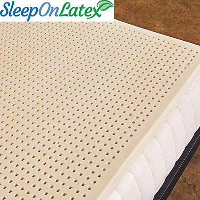 product image of sleep on latex topper