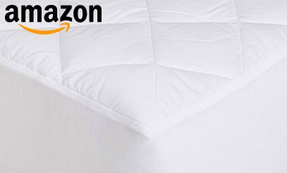 product image of the mattress pad from amazonBasics