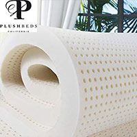 small proudct image of plushbeds mattress topper