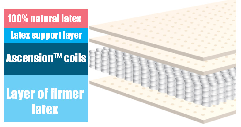 layers of the ecosleep bed