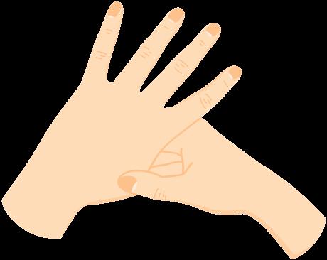 Illustration of an Acupressure