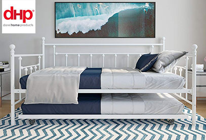 dhp manilia product image of trundle bed