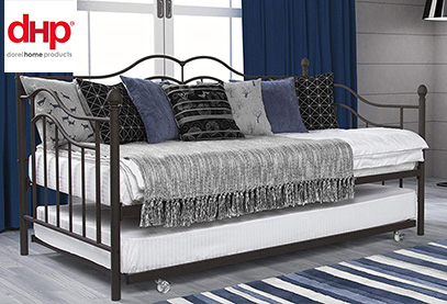 dhp tokyo trundle bed product image