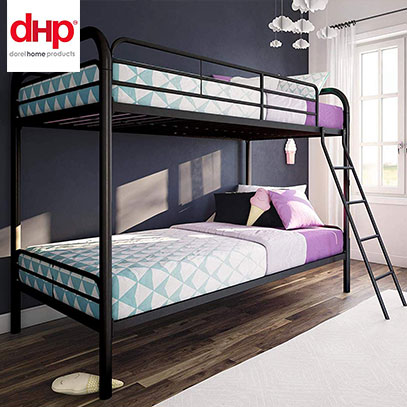 dhp twin over twin bunk bed product image
