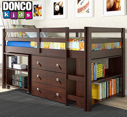 donco kids product image of loft bed