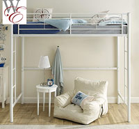 product image of Walker Edison loft bed small
