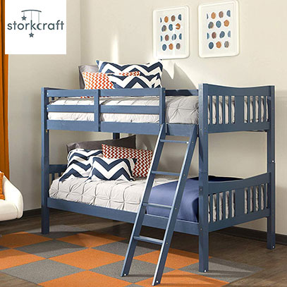 product image of stork craft bunk bed