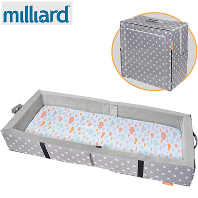 product image of travel bed for kids milliard