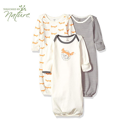 touched by nature pajamas for baby