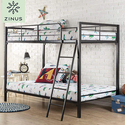 zinus bunk bed product image