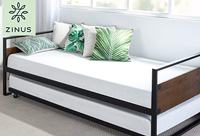 zinus suzanne product image of trundle bed small