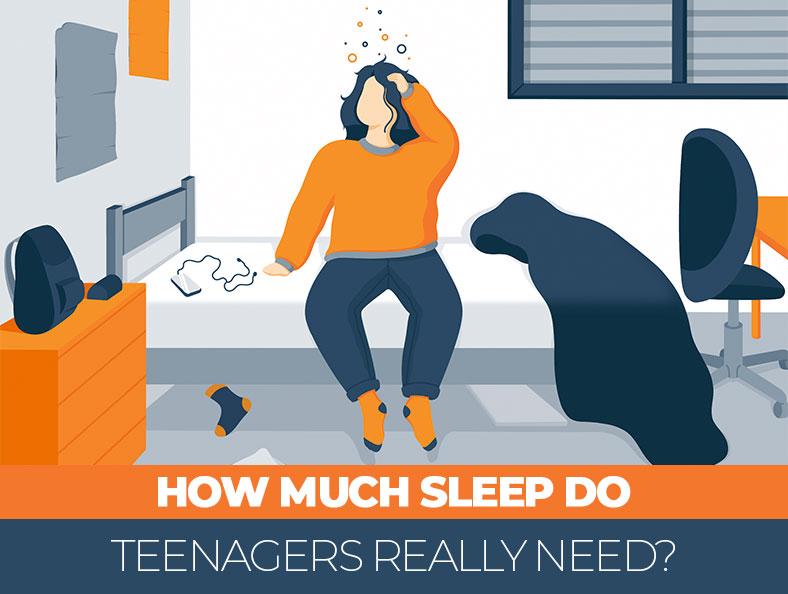 How Much Sleep Teenagers Really Need