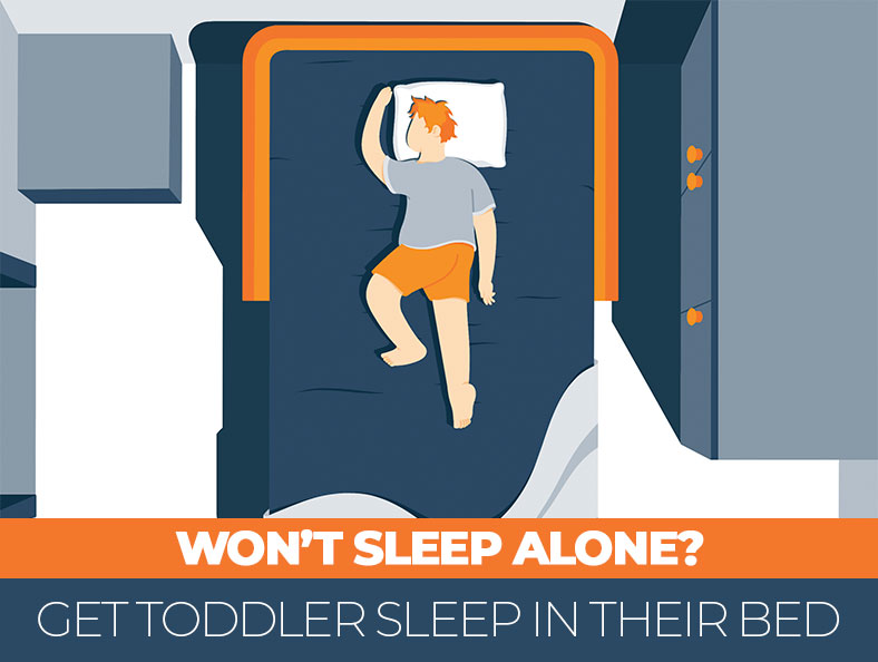 How to Get the Toddler Staying in Their Own Bed