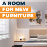 Measuring a room for furniture