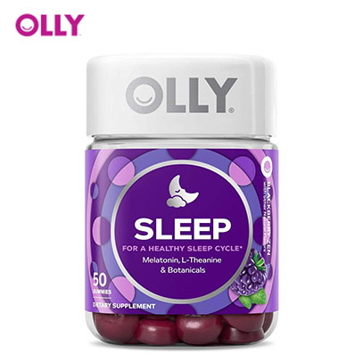 Olly product image of melatonin for better sleep