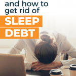 What is sleep debt?