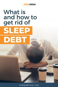 What is sleep debt?