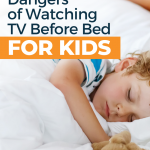 TV before bed for kids